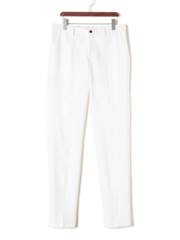 【80%OFF】テーパード パンツ ホワイト 48 ファッション > メンズウエア~~パンツ