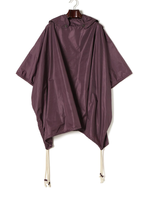 【82%OFF】ポンチョ風 プルオーバーコート パープル f ファッション > メンズウエア~~ジャケット
