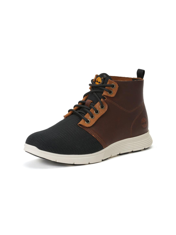 【50%OFF】KILLINGTON レザー 切替 レースアップブーツ ブラウン 7 ファッション > 靴~~メンズシューズ