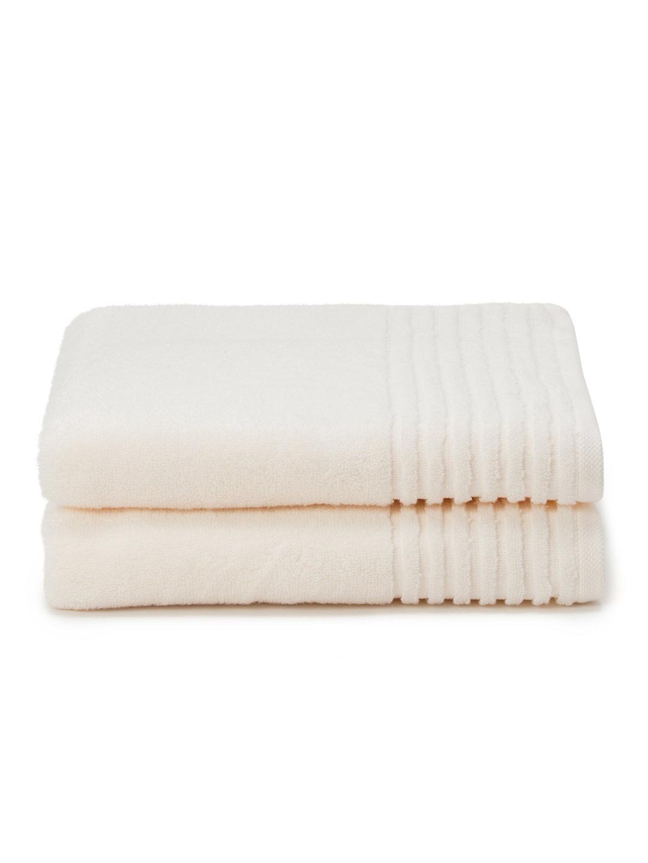 【40%OFF】バスタオル 2枚セット アイボリー キッチン・生活雑貨・日用品 > 暮らし~~タオル~~バスタオル