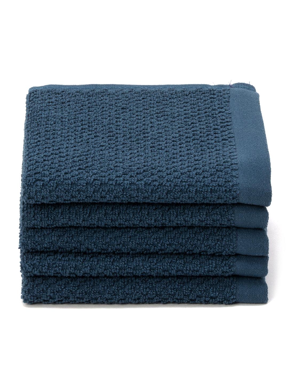 【35%OFF】ハンドタオル 5枚セット ブルー キッチン・生活雑貨・日用品 > 暮らし~~タオル~~バスタオル