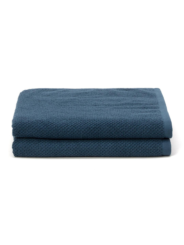 【40%OFF】バスタオル 2枚セット ブルー キッチン・生活雑貨・日用品 > 暮らし~~タオル~~バスタオル