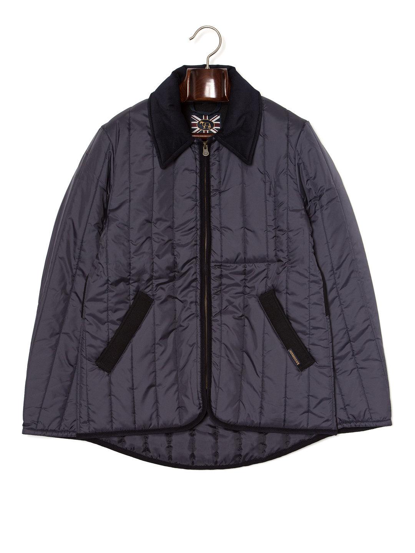 【40%OFF】HENLEY 切替 ジップアップ キルティングジャケット サフォークネイビーxスプリングネイビー 36 ファッション > メンズウエア~~ジャケット