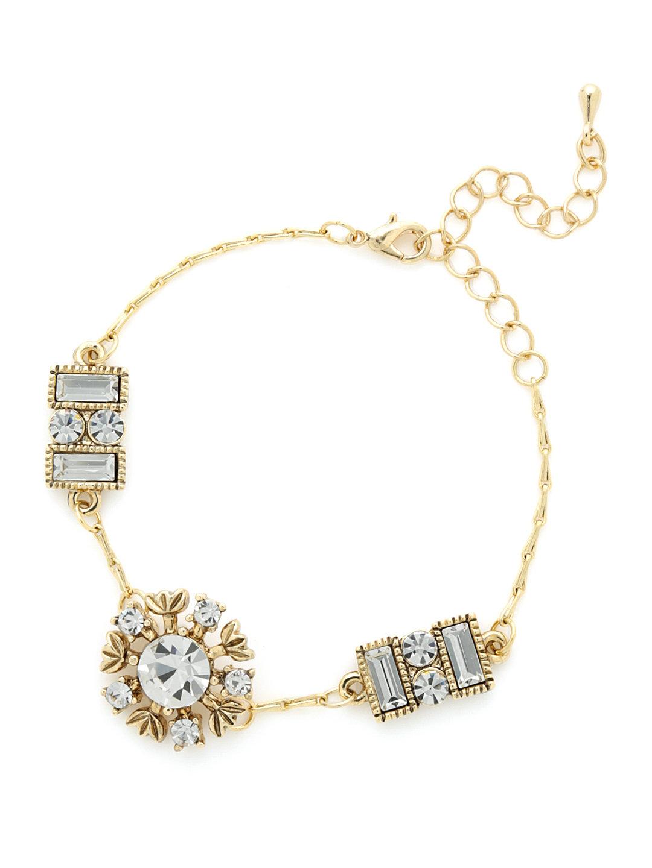 【60%OFF】スワロフスキー モチーフ ブレスレット ゴールド ファッション > 腕時計~~レディース 腕時計