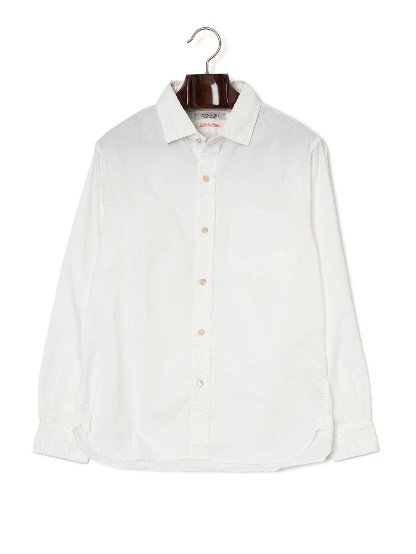 【50%OFF】ワンポケット 長袖シャツ ホワイト 4 ファッション > メンズウエア~~その他トップス