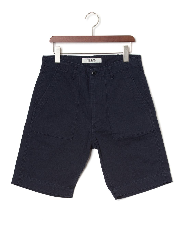 【50%OFF】ベイカー ハーフパンツ ネイビー 4 ファッション > メンズウエア~~パンツ
