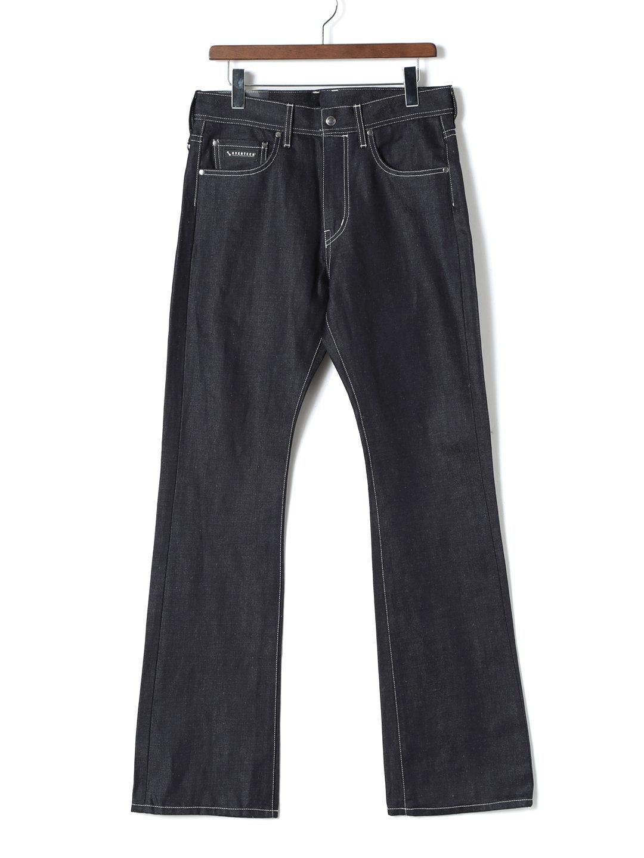 【70%OFF】LinenDenim14.5oz 5ポケット デニム インディゴ l ファッション > メンズウエア~~パンツ
