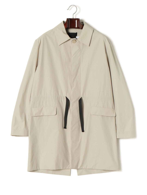【70%OFF】LEON BARA COVER MAC ドローコード ステンカラー 比翼 コート グレー l ファッション > メンズウエア~~ジャケット