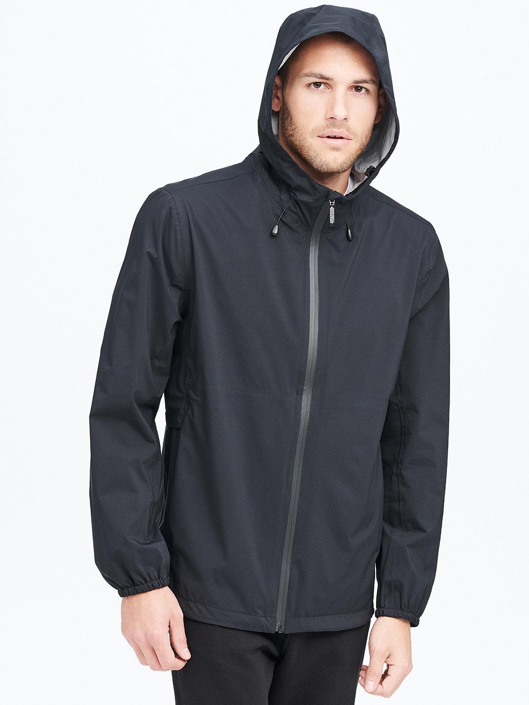 【70%OFF】BEACON フーデッド ジップアップジャケット ブラック l ファッション > メンズウエア~~ジャケット