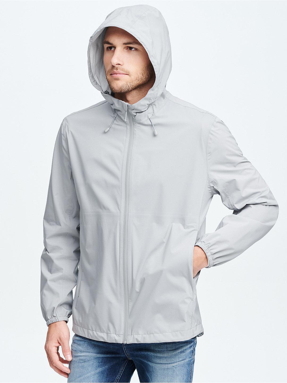 【70%OFF】BEACON フーデッド ジップアップジャケット ヘイズ l ファッション > メンズウエア~~ジャケット